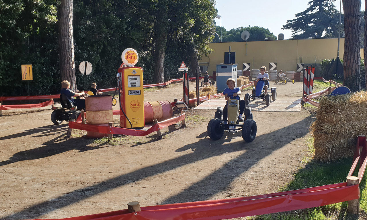 Circuito Go Kart a pedali