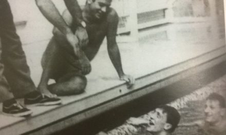Bud Spencer, campione di nuoto