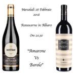 Amarone vs Barolo da RossoCarne!