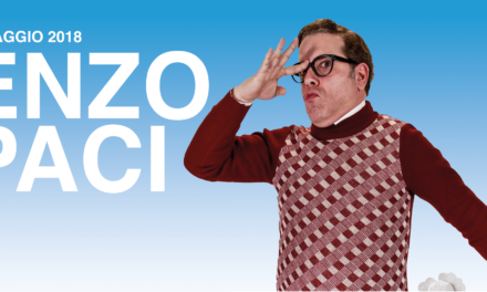 Il nuovo spettacolo del comico Enzo Paci ad Arena Spring Festival