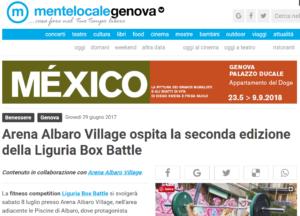 Arena Albaro Village ospita la seconda edizione della Liguria Box Battle Genova