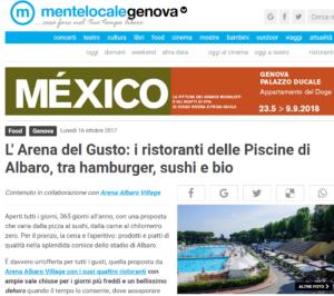 L Arena del Gusto i ristoranti delle Piscine di Albaro tra hamburger sushi e bio Genova