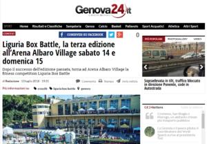 Liguria Box Battle la terza edizione all Arena Albaro Village sabato 14 e domenica 15 Genova 24