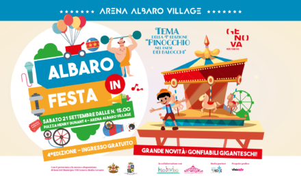 """TORNA """"ALBARO IN FESTA"""": SABATO 21 SETTEMBRE ALL'ARENA DI ALBARO 🗓"""