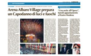 2019 12 5_IlSecoloXIX_Arena Capodanno