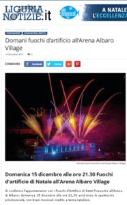 2019 dicembre 15_Fuochi Arena_Liguria Notizie