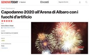 2019 dicembre_Capodanno Arena_GenovaToday