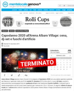 2019 dicembre_Capodanno Arena_Mentelocale