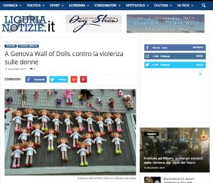 2019 novembre_Wall of Dolls Arena_Liguria Notizie
