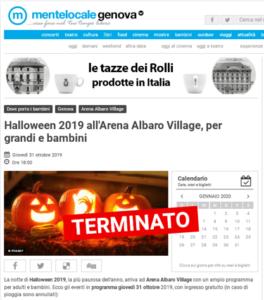 2019 ottobre_Halloween Arena_Mentelocale
